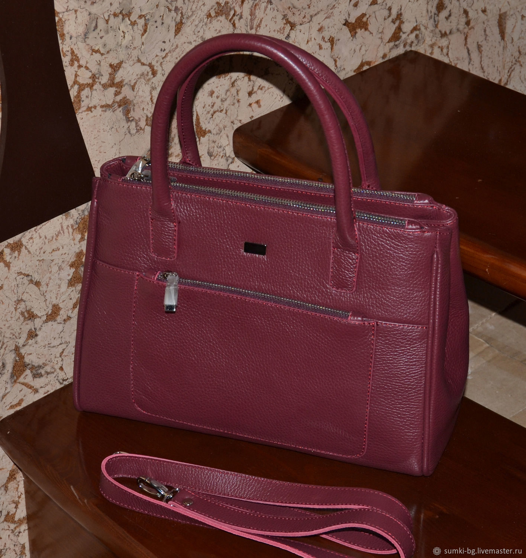 04cc2e32bc9 254. Handbags handmade. Livemaster - handmade. Buy Bag genuine leather  short handles.