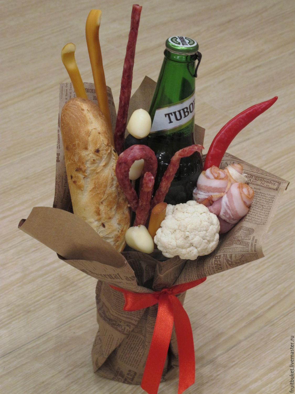 Мужской букет с колбасой 95