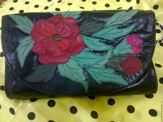 Женские сумки ручной работы. Ярмарка Мастеров - ручная работа. Купить сумка -цветы. Handmade. Комбинированный, сумка
