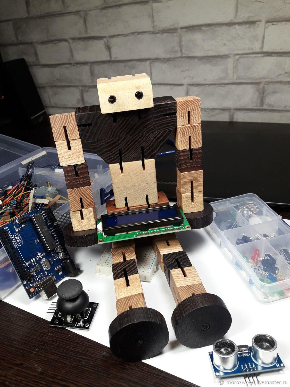 Деревянный Робот Трансформер, Техника роботы транспорт, Москва,  Фото №1