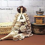 Куклы и игрушки ручной работы. Ярмарка Мастеров - ручная работа Кофейная фея - тильда для интерьера. Handmade.