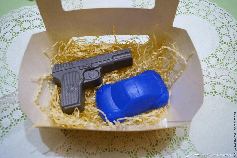 Набор для самых маленьких мужчин в коробке, Наборы косметики, Москва, Фото №1