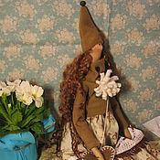 Куклы и игрушки ручной работы. Ярмарка Мастеров - ручная работа Гномочка Будильник заведу на март :-). Handmade.