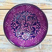Посуда ручной работы. Ярмарка Мастеров - ручная работа Керамическая пиала маленькая (сиреневая). Handmade.