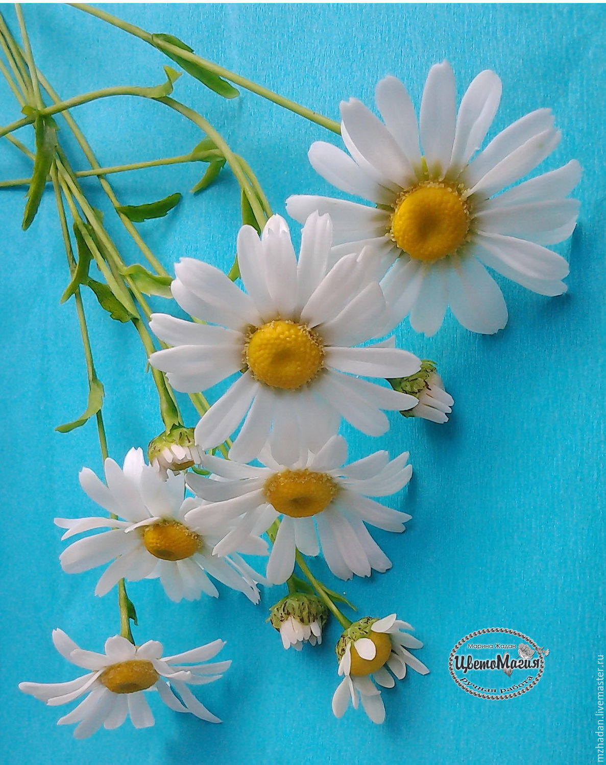 Daisies Polymer Clay Shop Online On Livemaster With Shipping