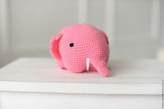 Милейший Розовый слон Паша ждет встречи с Вами! Станет прекрасным другом для детей и взрослых, которые любят сказки и верят в чудеса и доброту!  длина 15 см, высота 10 см, толщина 11 см