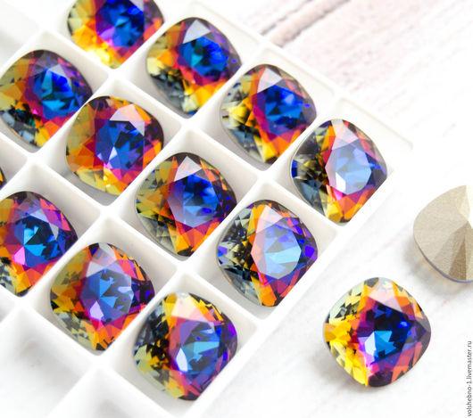 Для украшений ручной работы. Ярмарка Мастеров - ручная работа. Купить 12 мм Кристаллы Сваровски 4470 подушечка cushion Swarovski Crystal. Handmade.
