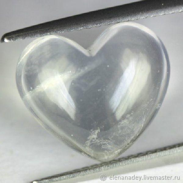 Rose quartz Heart, Cabochons, Ekaterinburg,  Фото №1