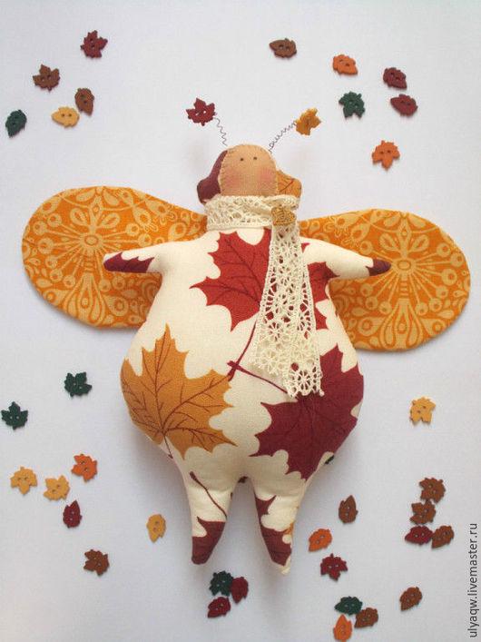 Куклы Тильды ручной работы. Ярмарка Мастеров - ручная работа. Купить Осенний Жук Дилон. Handmade. Оранжевый, тильда, осень