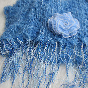 Аксессуары handmade. Livemaster - original item A light, fluffy knit tippet