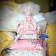 Куклы Тильды ручной работы. Ярмарка Мастеров - ручная работа. Купить Кукла Тильда. Принцесса на горошине. Handmade. Бледно-розовый