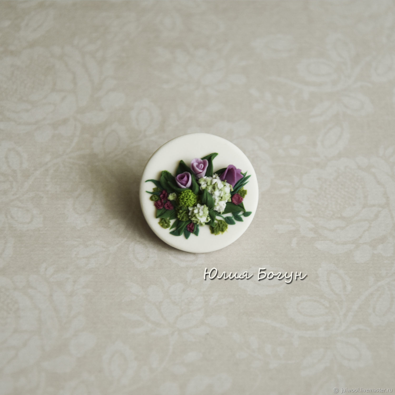 Festive bouquet. Brooch, Brooches, Belorechensk,  Фото №1