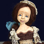 Куклы и игрушки ручной работы. Ярмарка Мастеров - ручная работа Будуарная кукла Мария (29 см). Handmade.
