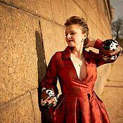 Одежда handmade. Livemaster - original item Dress made of jacquard