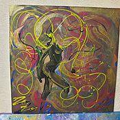 """Картины и панно ручной работы. Ярмарка Мастеров - ручная работа Картина """"Storm"""". Handmade."""