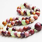 Фен-шуй и эзотерика handmade. Livemaster - original item Beads rainbow colors of Jasper, Mukai and green onyx. Handmade.