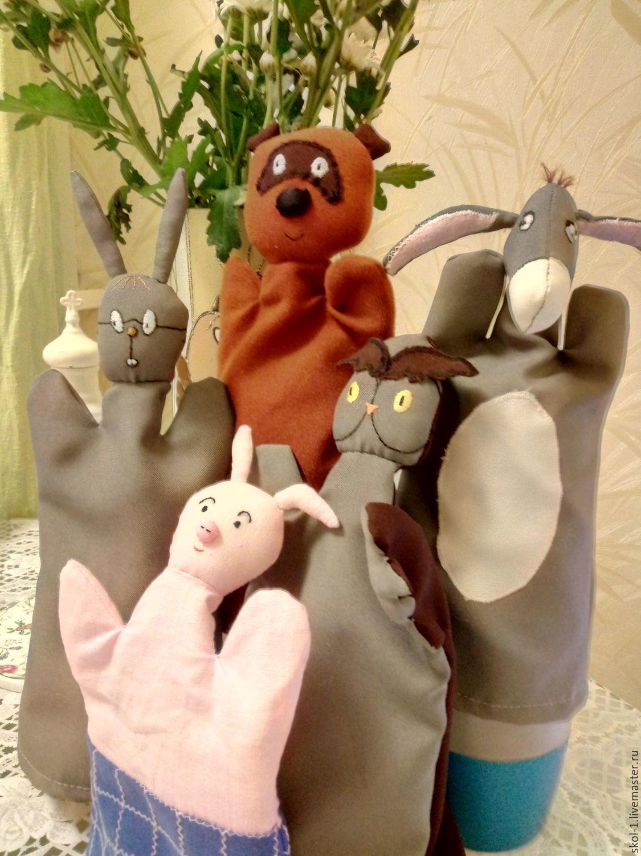 Винни Пух, ослик Иа, Сова, Пятачок и Кролик.