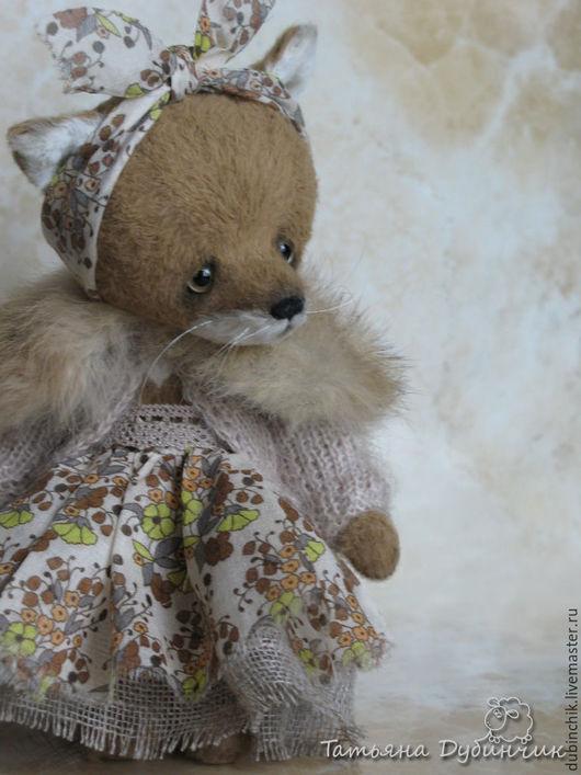 Мишки Тедди ручной работы. Ярмарка Мастеров - ручная работа. Купить Луша. Handmade. Оранжевый, вискоза Германия, мешковина