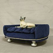 Зоотовары handmade. Livemaster - original item Couch for dog or cat buy. Available in size.. Handmade.