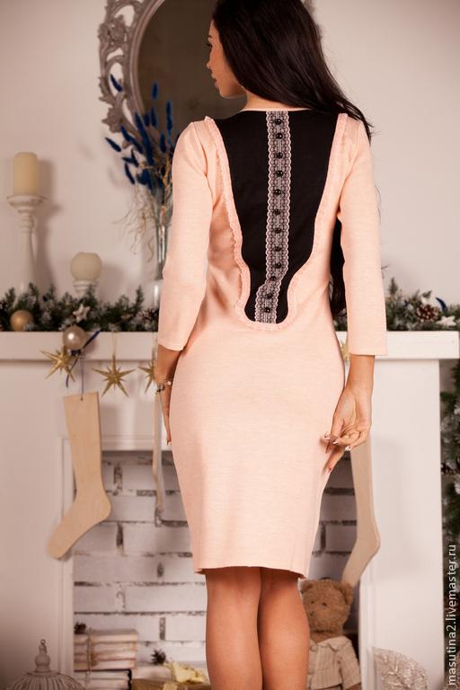 """Платья ручной работы. Ярмарка Мастеров - ручная работа. Купить Платье """"Розовое вино"""". Handmade. Бледно-розовый, платье с кружевом"""