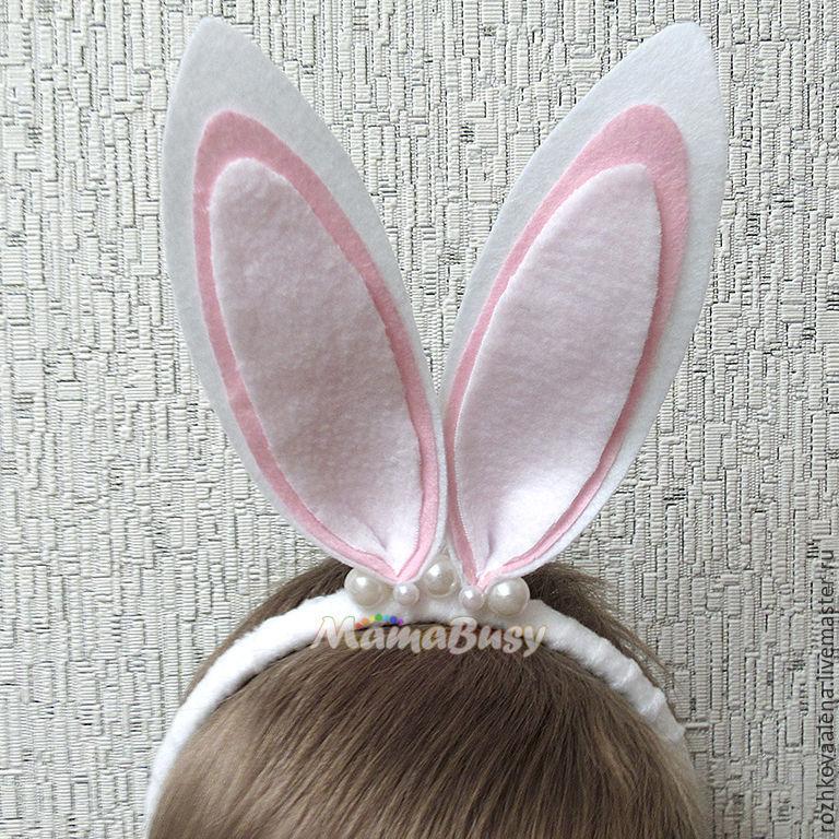 Ободок ушки зайца своими руками