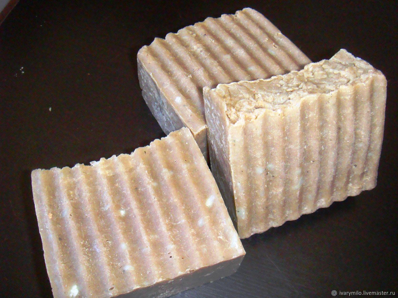 Мыло лечебное с глиной и камфорным маслом, Мыло, Кемерово, Фото №1