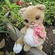 Игрушки животные, ручной работы. Ярмарка Мастеров - ручная работа. Купить тедди-котенок Веснушка. Handmade. Рыжий, тедди долл