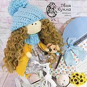 Кукла текстильная Амина. Кукла интерьерная. Кукла коллекционная.