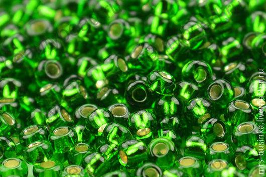 Для украшений ручной работы. Ярмарка Мастеров - ручная работа. Купить Бисер чешский Preciosa 57120 зеленый 10/0, 50 гр. Handmade.