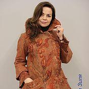 Одежда ручной работы. Ярмарка Мастеров - ручная работа Валяное пальто. Лисичка.. Handmade.