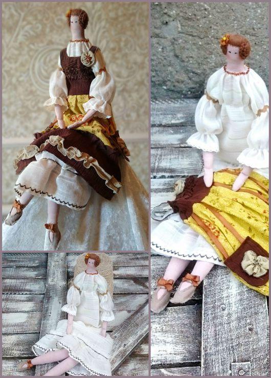 Куклы Тильды ручной работы. Ярмарка Мастеров - ручная работа. Купить Тильда Лилечка в стиле бохо. Handmade. Кукла Тильда