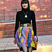 """Одежда ручной работы. Ярмарка Мастеров - ручная работа Юбка-баллон """"Rainbow bridge"""". Handmade."""
