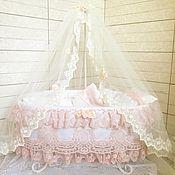 Куклы и игрушки handmade. Livemaster - original item A crib for a reborn doll. Handmade.