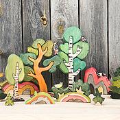 """Игровые наборы ручной работы. Ярмарка Мастеров - ручная работа Набор-конструктор """"Карельский лес"""". Handmade."""