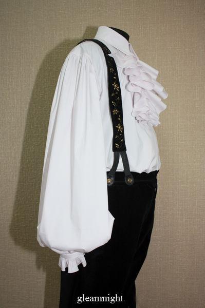 Для мужчин, ручной работы. Ярмарка Мастеров - ручная работа. Купить Мужская историческая рубашка. Handmade. Мужская одежда, однотонный