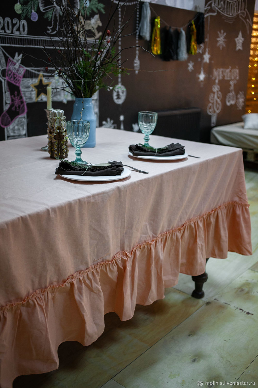 TABLECLOTHS: Molinia linen tablecloth shape and size optional, Tablecloths, Kaliningrad,  Фото №1