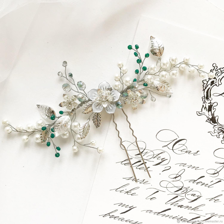 Шпилька для свадебной прически, Свадебные украшения, Санкт-Петербург, Фото №1