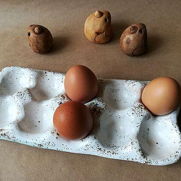 Посуда ручной работы. Ярмарка Мастеров - ручная работа Подставка для яиц. Handmade.