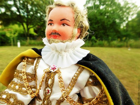 Винтажные куклы и игрушки. Ярмарка Мастеров - ручная работа. Купить Винтажная коллекционная кукла мужчинa Louis14 марки Petitcolin Франция. Handmade.