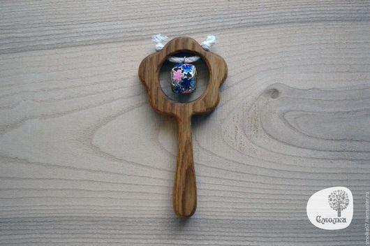 Развивающие игрушки ручной работы. Ярмарка Мастеров - ручная работа. Купить Погремушка из дубового деревца. Handmade. Погремушка, деревянная игрушка