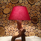 Для дома и интерьера ручной работы. Ярмарка Мастеров - ручная работа Лампы из дуба. Handmade.