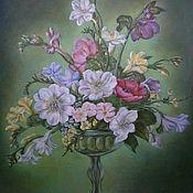Картины и панно ручной работы. Ярмарка Мастеров - ручная работа Летние цветы. Handmade.