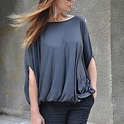 Одежда handmade. Livemaster - original item Knitted blouse, light and loose - TP0450TR. Handmade.