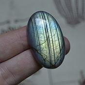Материалы для творчества handmade. Livemaster - original item Labradorite. Cabochon 41 X 23 X 8. Handmade.