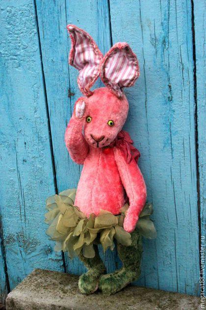 Мишки Тедди ручной работы. Заяц тедди Мечты о лете. Мental toys (семейный магазин). Интернет-магазин Ярмарка Мастеров.