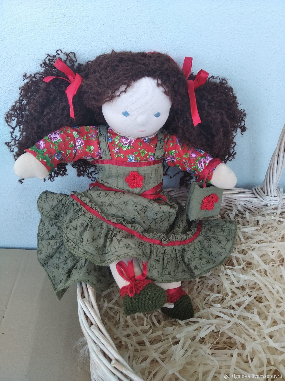 Кукла Маруся 39 см, Вальдорфские куклы и звери, Санкт-Петербург,  Фото №1