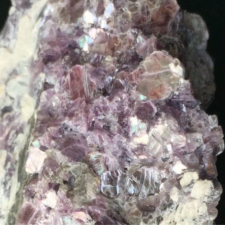 Natural lepidolite, 57 g, Russia, Raw stone, Krasnodar,  Фото №1