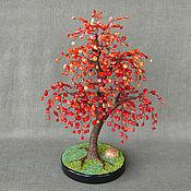 handmade. Livemaster - original item Natural coral tree
