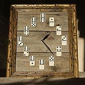 Часы ручной работы. Ярмарка Мастеров - ручная работа Настенные часы из старых досок. Handmade.