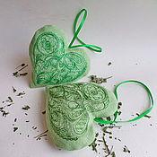 Сувениры и подарки ручной работы. Ярмарка Мастеров - ручная работа Саше с мятой. Handmade.